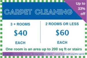 Carpet Cleaning Calgary Special